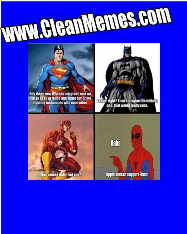 No Flash Clean Memes