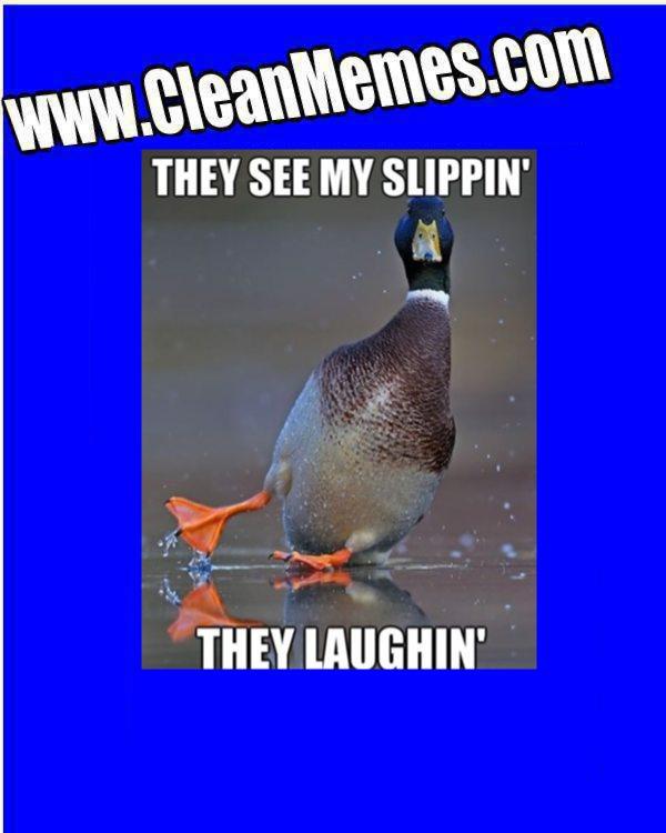 Slippin Duck Clean Memes