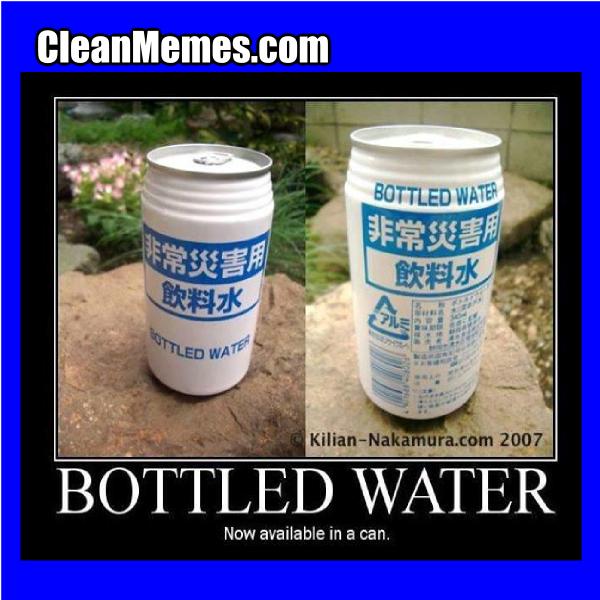BottledCannedWater