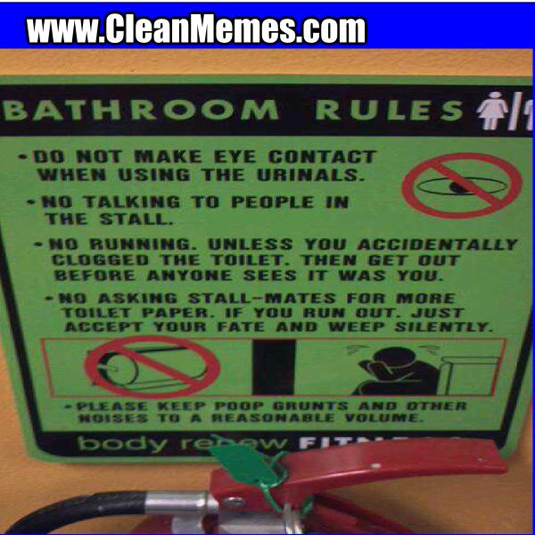 BathroomRules