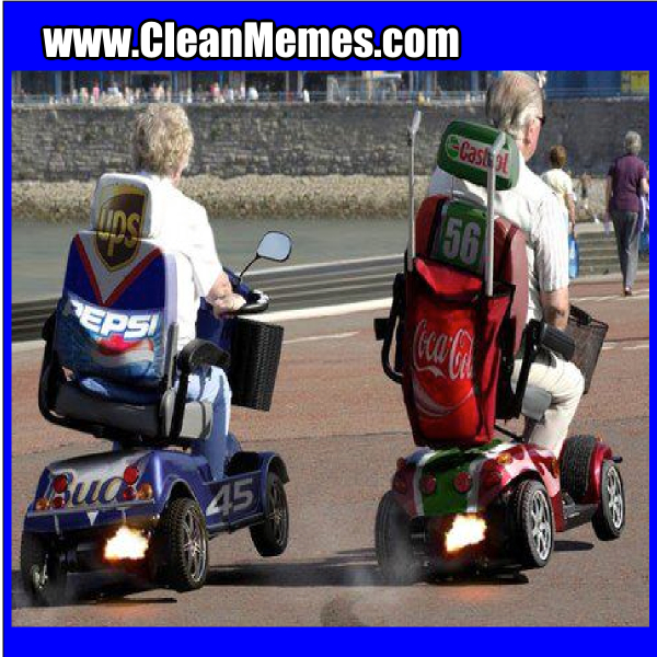 Scooter Race Clean Memes