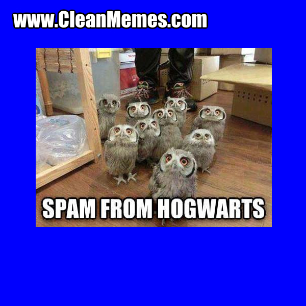 SpamFromHogwarts