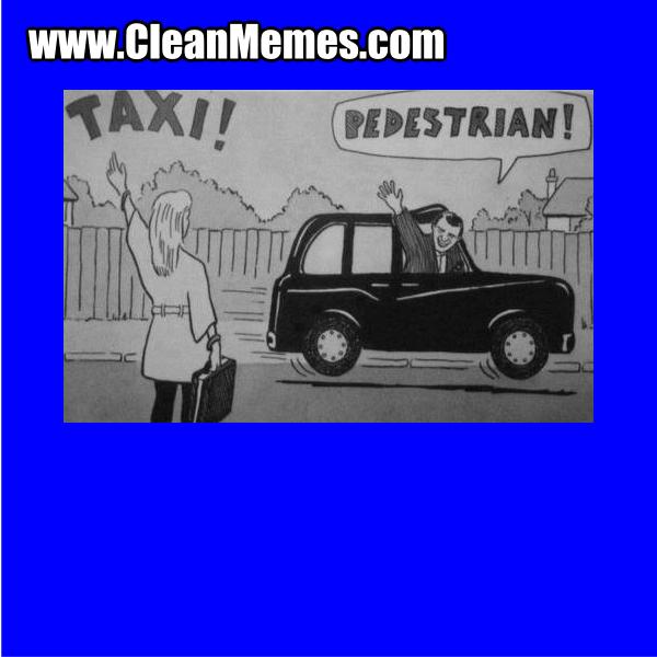 TaxiPedestrian
