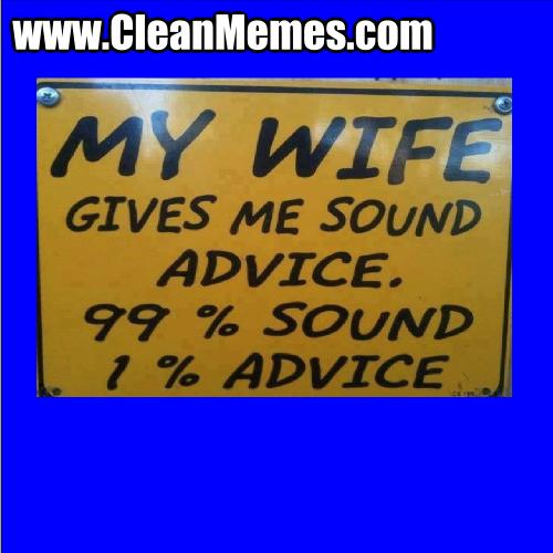 WifeGivesMeSoundAdvice