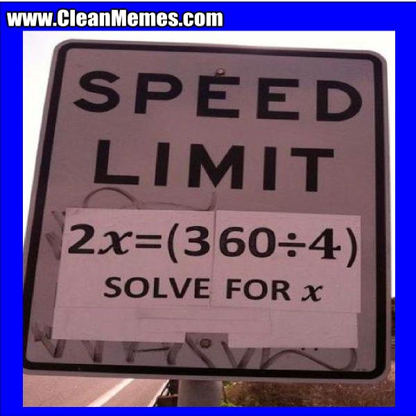 SpeedLimitSolveFor