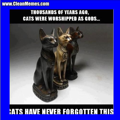 CatsWereWorshippedAsGods