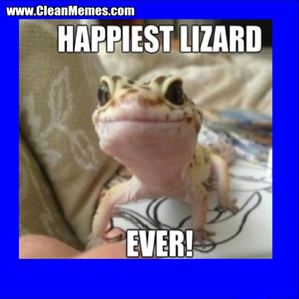 HappiestLizardEver