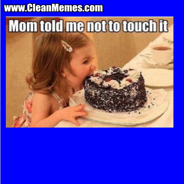 MomToldMeNotToTouchIt