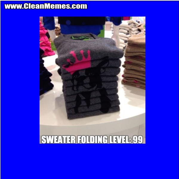 SweaterFoldingLevel