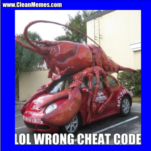 WrongCheatCode