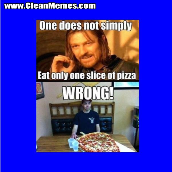 EatOnlyOneSliceOfPizza