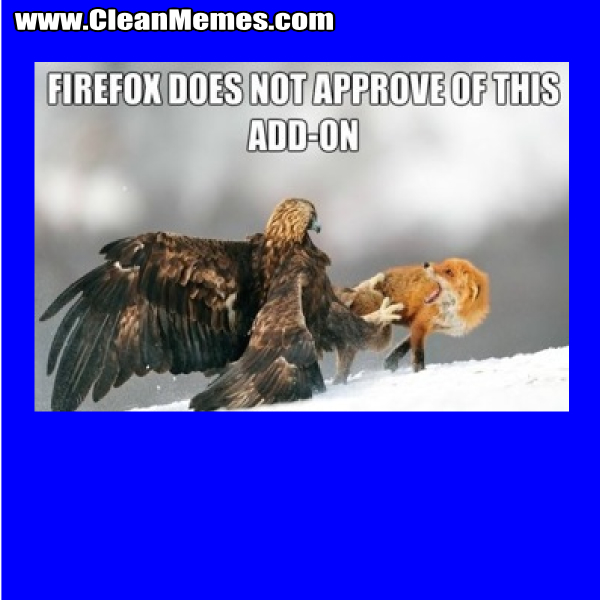 FirefoxDoesNotApprove