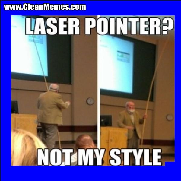LaserPointerNotMyStyle