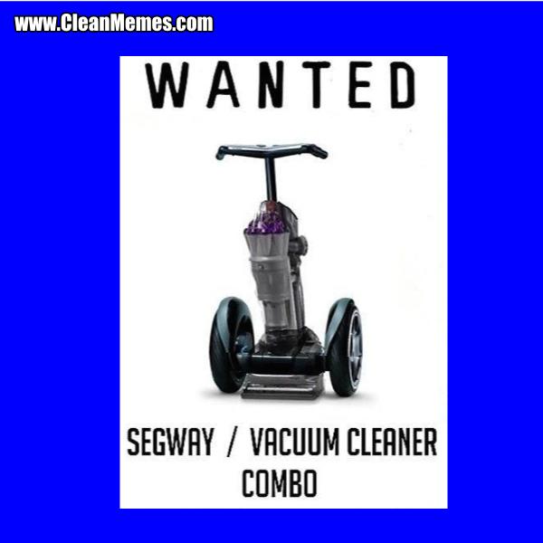 SegwayVacuumCleanerCombo