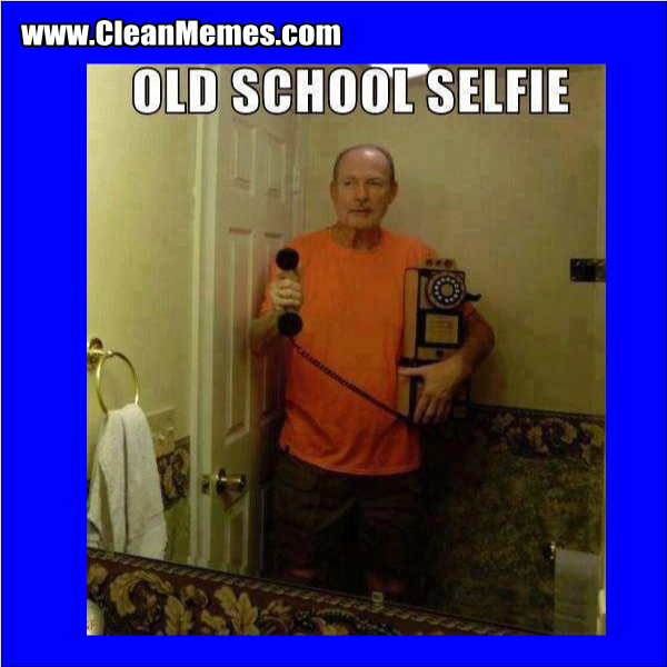 OldSchoolSelfie