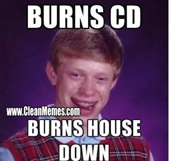 Bad Luck Brian – Clean Memes