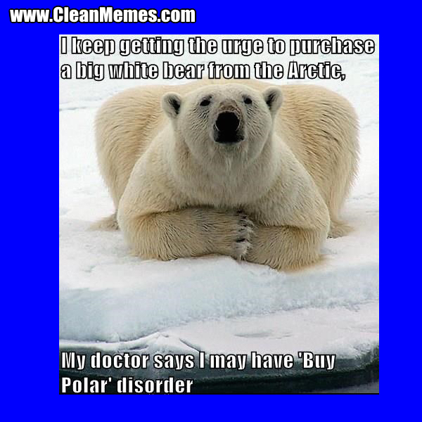 Big White Bear Clean Memes