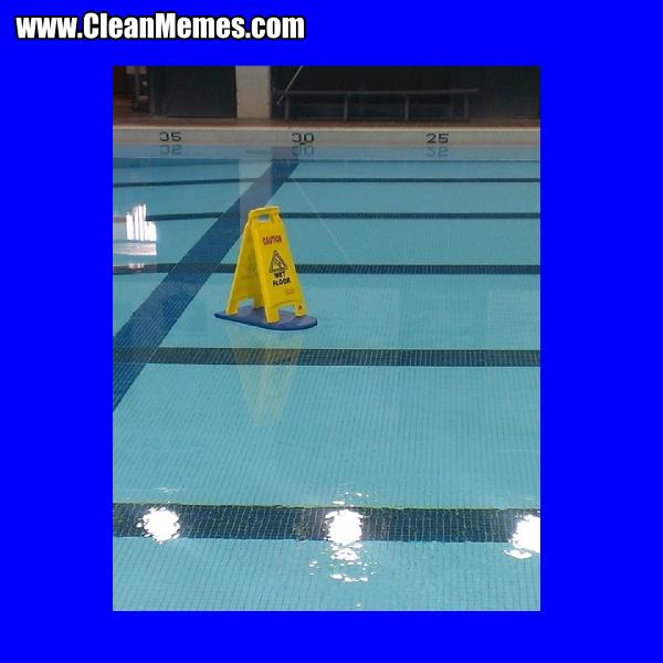 Wet Floor Clean Memes