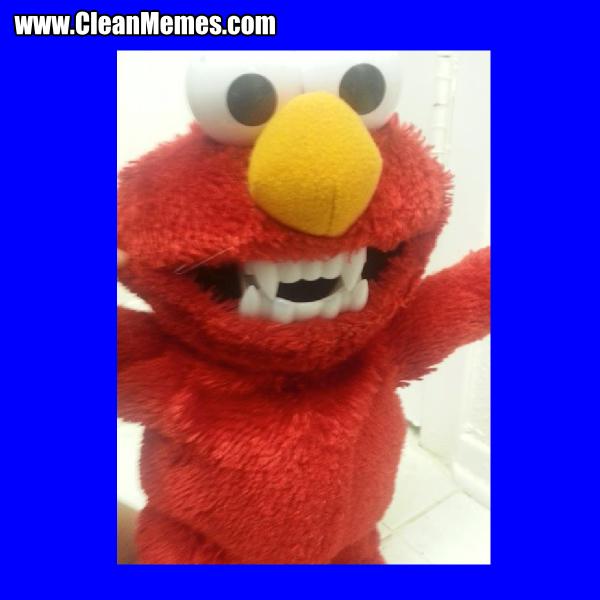 Elmo Teeth Clean Memes