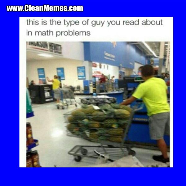 Math Problems Clean Memes