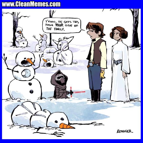 Solo Snow Clean Memes